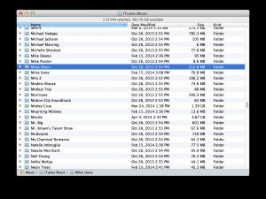 "The ""Miles Davis"" folder"